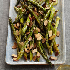 Food & Wine: Roasted Asparagus with Almonds