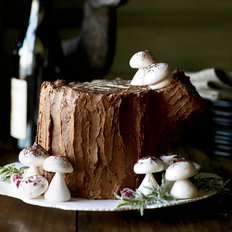Food & Wine: Chocolate-Malt Stump de Noël