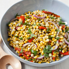 Food & Wine: Roasted Corn and Red Pepper Salad