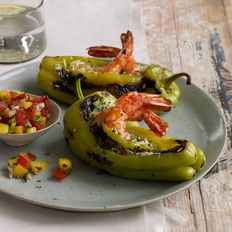 Food & Wine: Shrimp-Stuffed Peppers