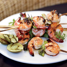 Food & Wine: Grilled Miso Shrimp
