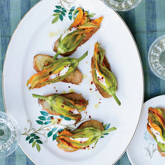 Food & Wine: Squash Blossoms with Pimento Ricotta