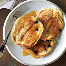 Food & Wine: Blueberry-Banana Pancakes