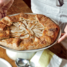 Food & Wine: Free-Form Apple Tart