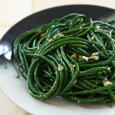 Food & Wine: Gingered Green Beans