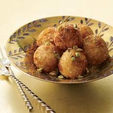 Food & Wine: Fried Goat Cheese Balls with Honey