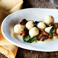 Food & Wine: Ricotta Gnudi with Chanterelles