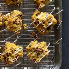 Food & Wine: Pumpkin Cookies with Dried Fruit and Pistachios
