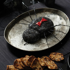 Food & Wine: Black Widow Goat Cheese Log
