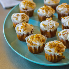 Food & Wine: Gluten-Free Carrot Cake Cupcakes