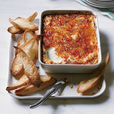 Food & Wine: Pepper-Glazed Goat Cheese Gratin