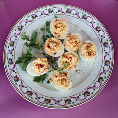 Food & Wine: Smoked-Salmon Deviled Eggs
