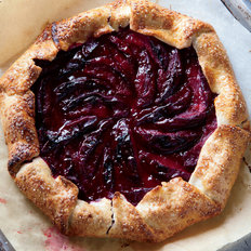 Food & Wine: Summer Plum Crostata