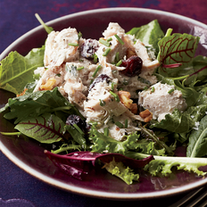 Food & Wine: Walnut-Cranberry Turkey Salad