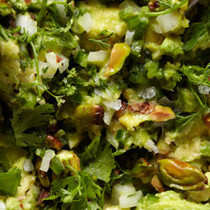 Food & Wine: Guacamole with Pistachios