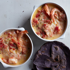 Food & Wine: Queso Fundido with Shrimp & Tomatoes