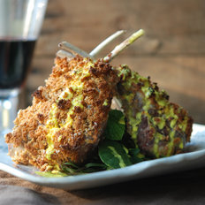 Food & Wine: Tarragon-Crusted Lamb with Goat Cheese Fondue