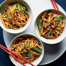 Food & Wine: Lo Mein with Mushrooms and Snow Peas