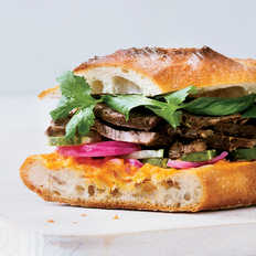 Food & Wine: Short Rib Banh Mi with Quick Pickles and Fresh Herbs