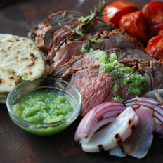 Food & Wine: Grilled Leg of Lamb, Mexican-Style