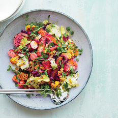 Food & Wine: Vegetable Rainbow Salad