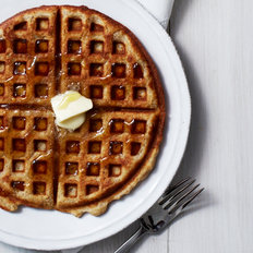 Food & Wine: Almond Waffles
