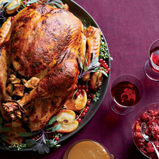Food & Wine: Roast Turkey with Chestnut-Apple Stuffing