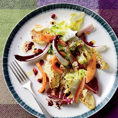 Food & Wine: Chicory Salad with Pickled Quince and Pomegranate