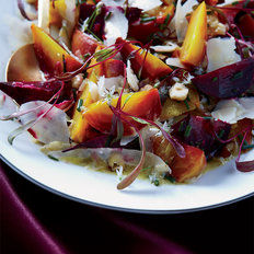 Food & Wine: Roasted Beets with Hazelnuts and Goat Cheese