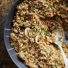 Food & Wine: Three-Mushroom-and-Quinoa Salad