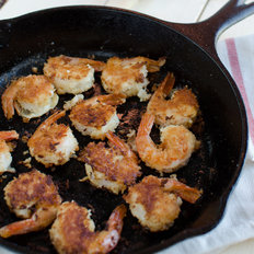 Food & Wine: Healthy Coconut Shrimp