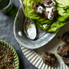 Food & Wine: Grilled Middle Eastern Meatballs