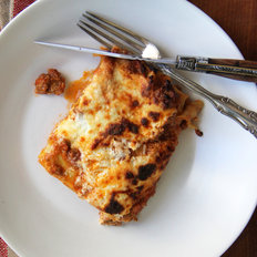 Food & Wine: Meatloaf Mix Lasagna