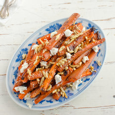 Food & Wine: Roasted Carrot Salad with Toasted Quinoa and Goat Cheese