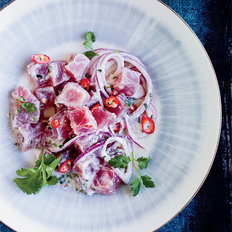 Food & Wine: Filipino-Style Ceviche with Coconut Milk