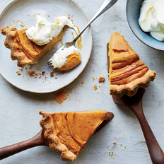 Food & Wine: Sweet-Potato Pie with Cornmeal Crust
