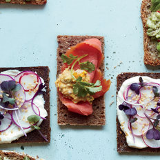 Food & Wine: Smoked Salmon and Preserved Lemon Tea Sandwiches