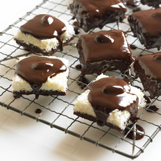 Food & Wine: Coconut Brownie Bars