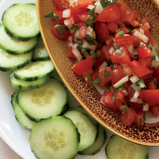 Food & Wine: Tomato Salsa with Cucumber