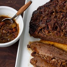 Food & Wine: Holiday Beef Brisket with Onions