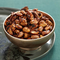 Food & Wine: Maple-Glazed Peanuts & Bacon