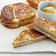 Food & Wine: Ham and Gruyère French Toast Sandwiches