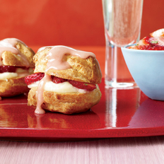 Food & Wine: Strawberry Cream Puffs