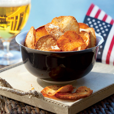 Food & Wine: Chile-Cheese Yucca Chips