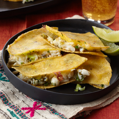 Food & Wine: Crab Quesadillas with Pickled Jalapeños