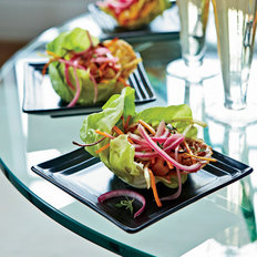 Food & Wine: Bibb Lettuce with Warm Vegetable Vinaigrette