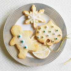 Food & Wine: Ginger-Studded Sugar Cookies