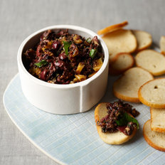 Food & Wine: Black Olive Tapenade with Figs and Mint