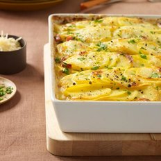 Food & Wine: Scalloped Potatoes with Ham