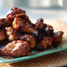 Food & Wine: One-Pot Sticky Chicken Wings